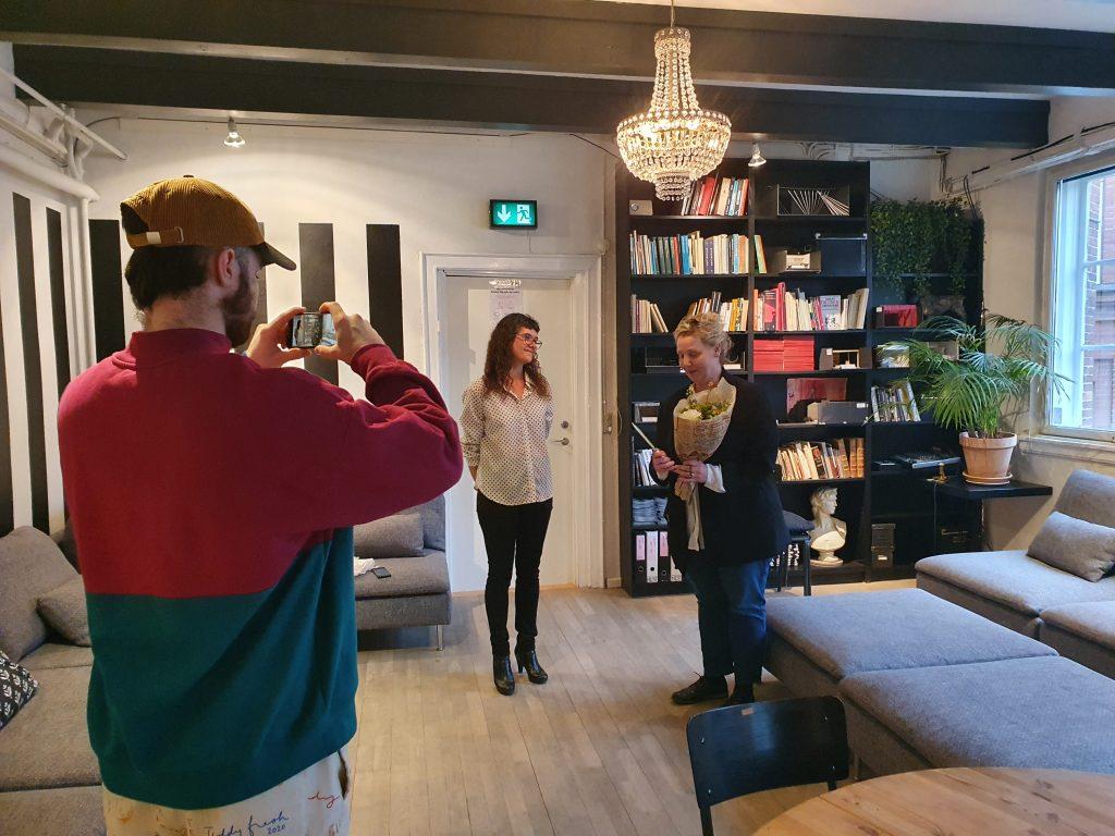 Maria Vinterberg modtager Teaterkatten 2020